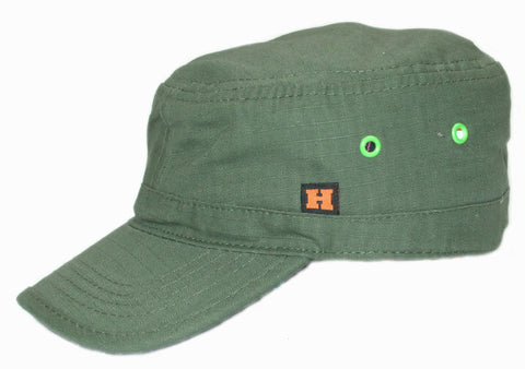 Cadet Cap in Army Green