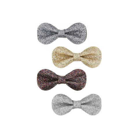 MIMI & LULA Glitter Gracies Mini Bow Clips