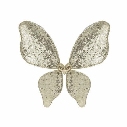 MIMI & LULA Sparkle Sequin Wings - Gold