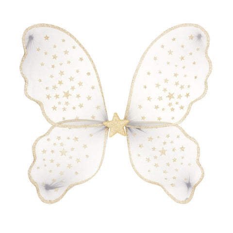MIMI & LULA Starry Night Wings - Grey/Gold