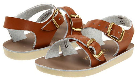 Sun-San Salt-Water sandals - Surfers style in Tan