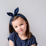 MIMI & LULA Coco Bow Alice Band - Navy