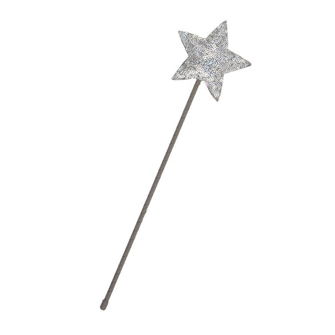 MIMI & LULA Sparkle Sequin Wand - Silver