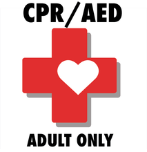 CPR/AED for Adult Only (Online Learning with Remote or Local Skills Verification)