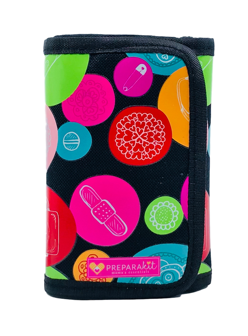Take Along First Aid Kit - Fun Bubble Black