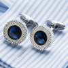 Crystal Cufflinks Top Quality Wedding Essential - Weddingkings.com