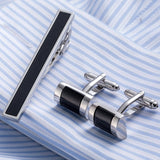 Luxury Tie Clip Cufflinks Set - Weddingkings.com
