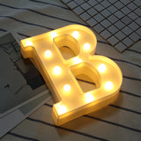 LED Letter Symbol Sign Lights For Confession - Weddingkings.com