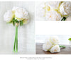 4 Colors Flower Fake Peony Bridal Wedding Party - Weddingkings.com