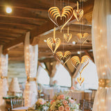Heart Shaped Hanging Decoration