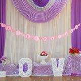 (I LOVE YOU) Paper Bunting Banner Hanging