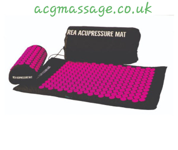 This an image of REA Acupressure Mat in Pink. NEW From USA! UK Stockist