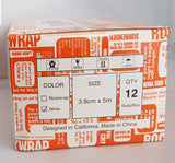 RockTape RockWrap Rigid Tape (12 Pack) White 3.8 cm x 5 mtrs