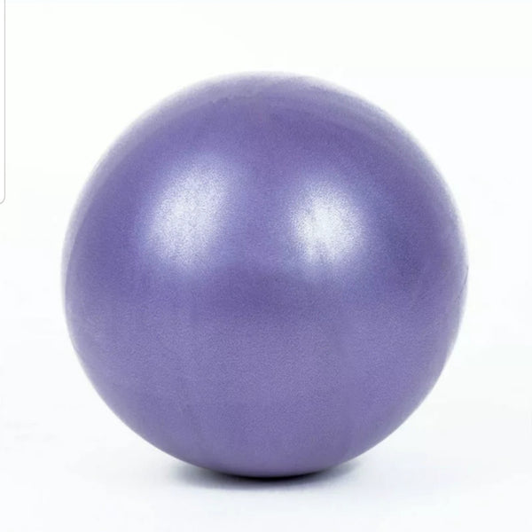 25cm Purple EVA Mini Physical Fitness Ball for exercises or to help Scar Tissue