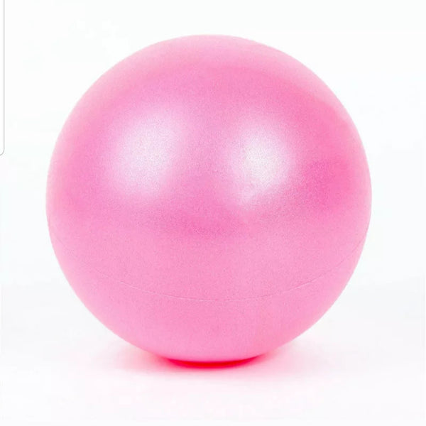 25cm Pink EVA Mini Physical Fitness Ball for exercises or to help Scar Tissue