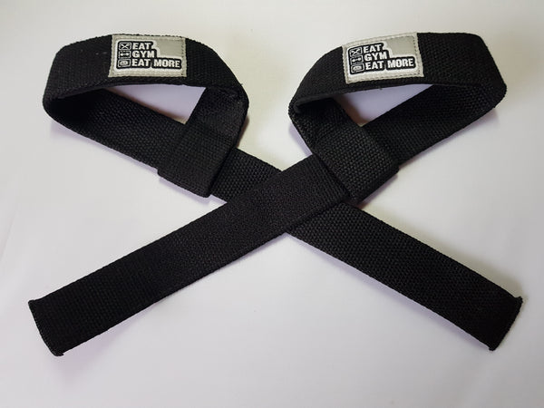 Wrist Lifting Straps - 1 pair. 4cm wide 60cm long - with Padding