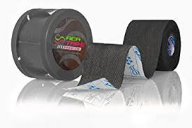 This is an image of REA TAPE Premium Black 5cm x 5mtr Kinesiology Tape Extra Strong! UK