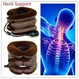Neck support, this will slightly stretch the neck and improve posture. It will also relief pressure between the vertebrae.