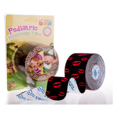 This is an image of REA Tape Kiss 5cm x 5mtr Kinesiology Tape or K Tape UK