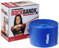 RockTape RockBand RX Extra Heavy Blue Later Free Rehab Therapy Band