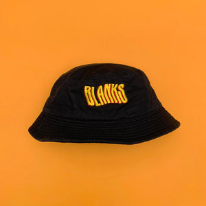 BLANKS EMBROIDERED BUCKET HAT