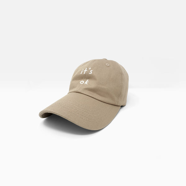 It's Ok Embroidered Dad Cap