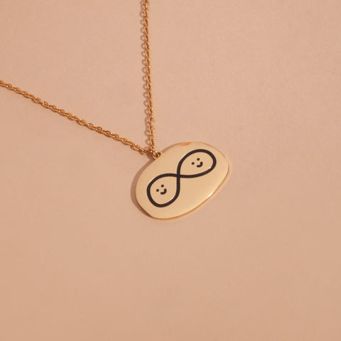 Happy Infinity Necklace