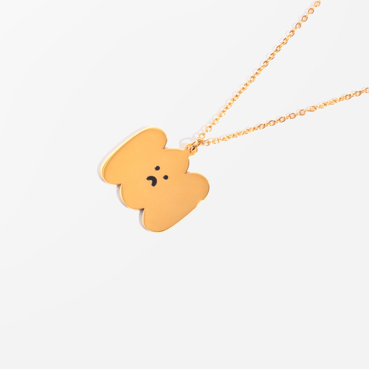 Happy Sad Cloud Necklace