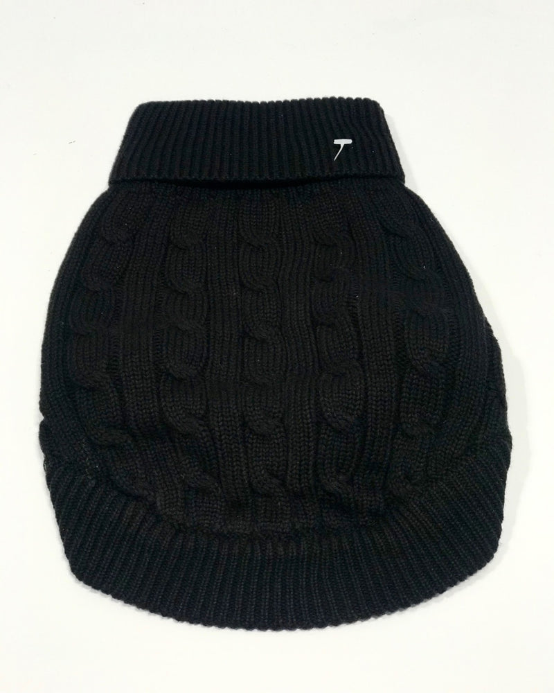 The black knit