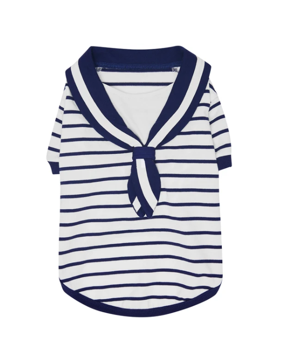 The blue sailor sweater