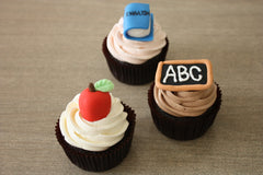 Teacher Themed Cupcakes
