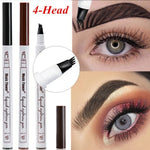 4-Head Microblading Eyebrow Tattoo Pen Waterproof