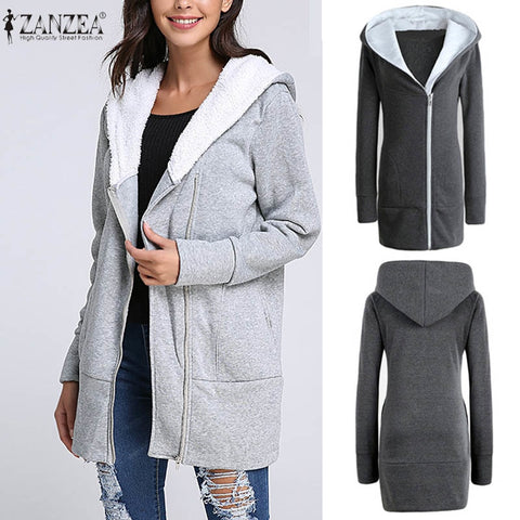 Long Coat Hoodies