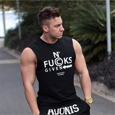 No FUCKS Given Fitness Top