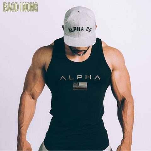ALPHA Fitness Men Tank Top