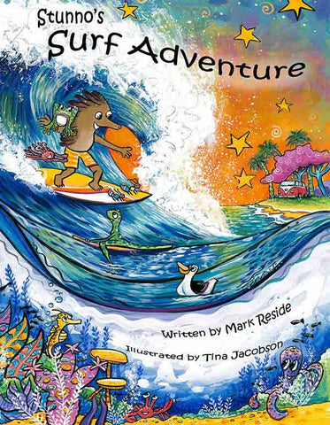 Stunno's Surf Adventure E-Book