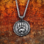 Bear Footprint Necklace - Star Wars Time