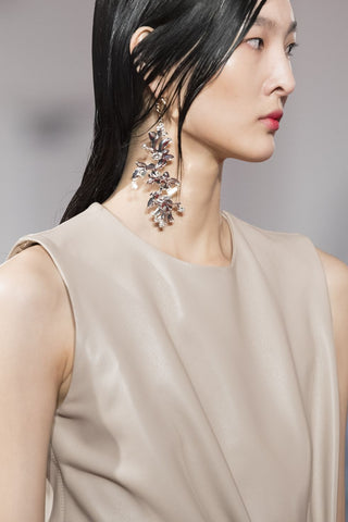 Sculptural Floral Earrings by Arlington 16, Fall 2020