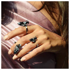 Flutter Midi Rings by Outhouse Jewellery