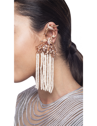 Lophorina Chandelier Ear Cuffs by Outhouse Jewellery