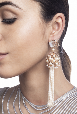 Lophorina Treasure Tassel Earrings