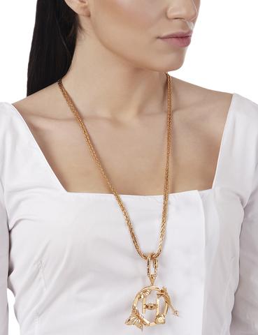 OH V Long Necklace by Outhouse Jewellery