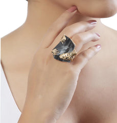 Silver Night Ring by Outhouse Jewellery