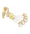 Diwan Haathphool/Hand Harness in Gold