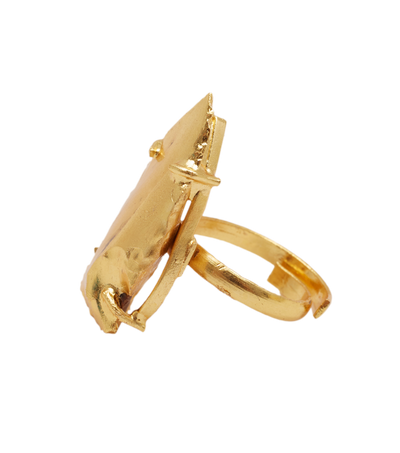 Golden Xena Ring