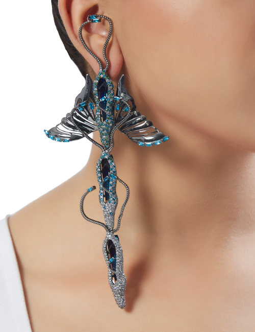 Thorax Trio Earrings