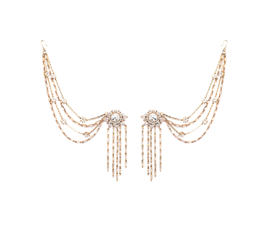 Regal Glint Earrings