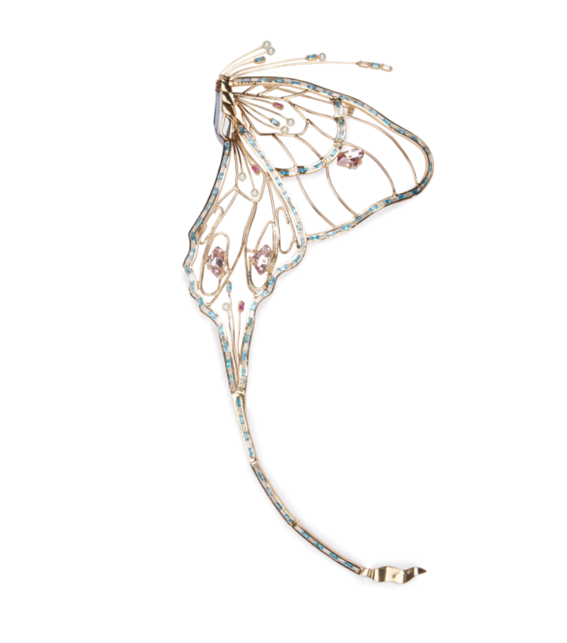Swallowtail Couture Brooch