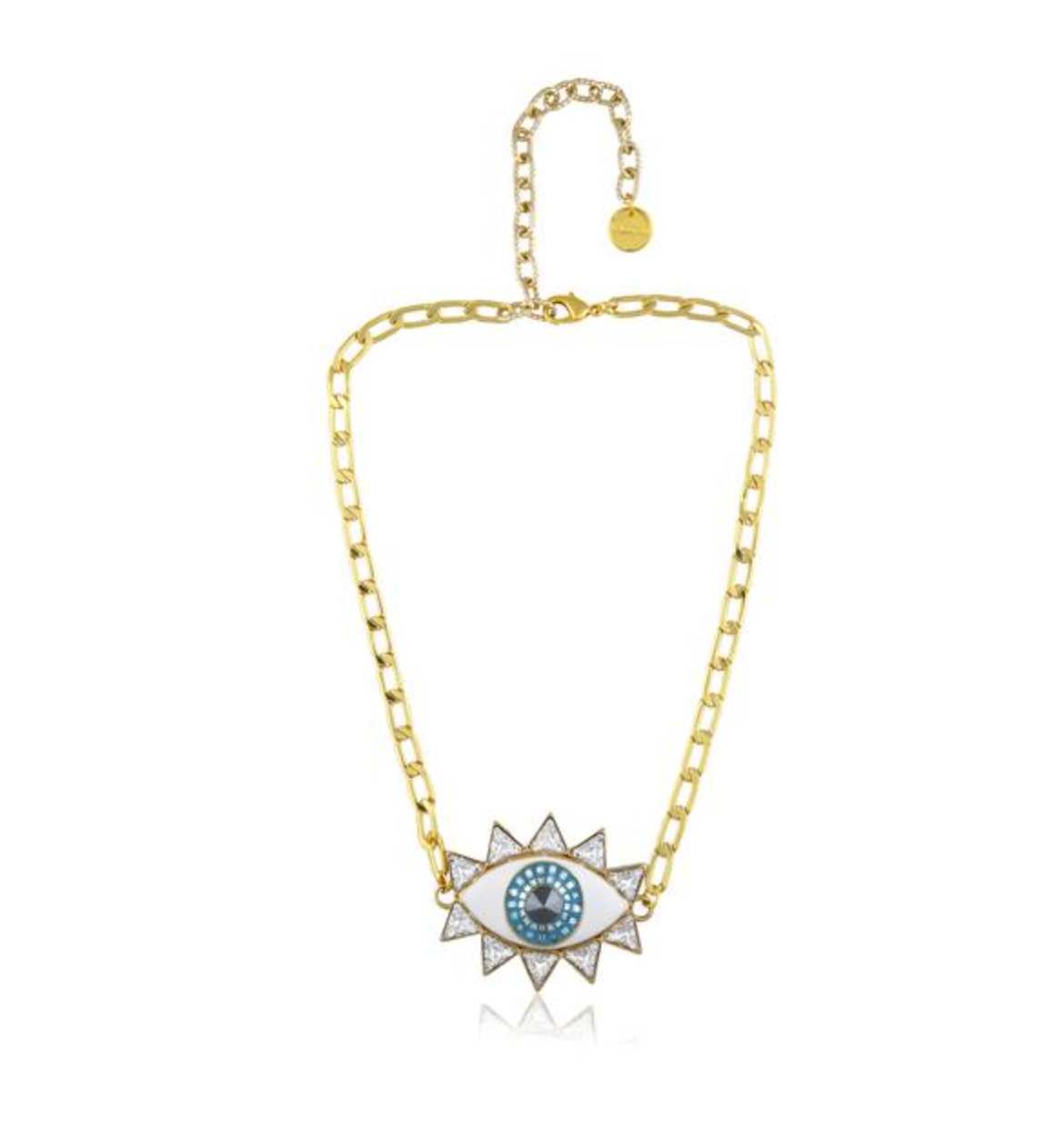 Evil Eye Necklace - Gold
