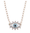Evil Eye Necklace - Rosegold